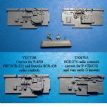 P-47D Corrected Cockpit Sidewalls for Tamiya kit